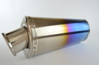 Aprilia Tuono V4R (10-14) Oval Big Bore XLS Coloured Titanium Exhaust