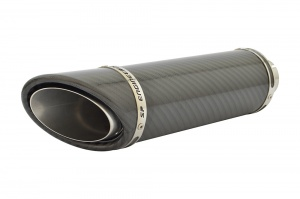 Honda CB 650F (14-18) Round SC-1 Stubby Carbon Fibre Exhaust Full System