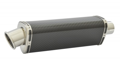 Benelli Tornado Tre 1130 (03-14) Tri-Oval Big Bore XLS Carbon Fibre Exhaust
