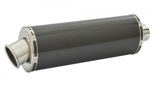 Benelli Tornado Tre 1130 (03-14) Oval Big Bore XL Carbon Fibre Exhaust