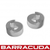 Barracuda Bar End Adaptors - Honda - HN1000
