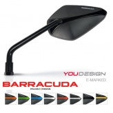 Barracuda X-Version Mirrors - E Marked