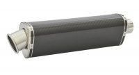 SP Engineering Slip On Tri-Oval Big Bore XL Carbon Fibre Exhaust