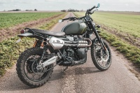 Triumph Scrambler 1200 (2019-2020) Slash Exhausts