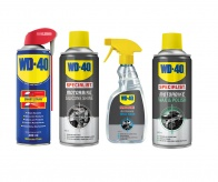WD40 Specialist Bike Cleaning Care Kit 4 Pcs - Protection